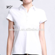 Latest Polo T-shirts OEM Woman Apparel Woman Clothes Classic Polo Shirts