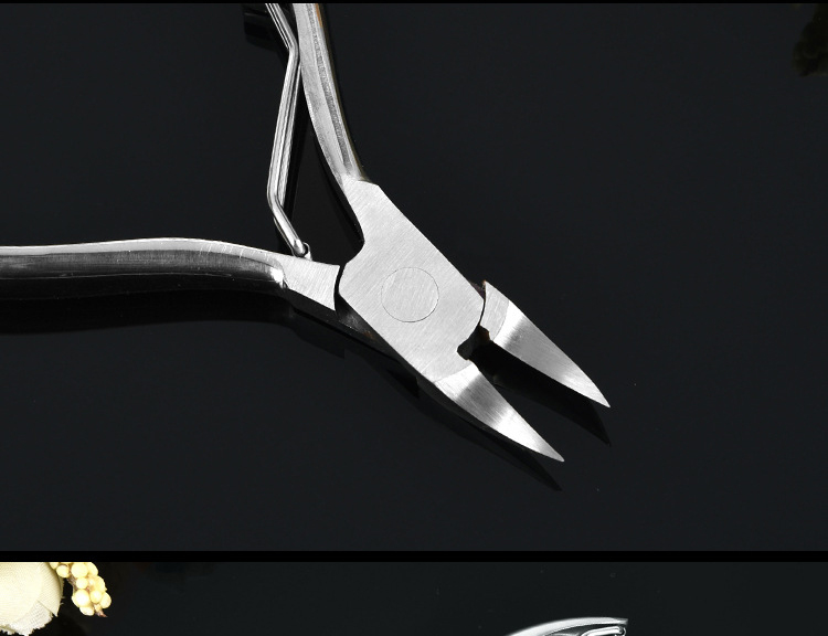 ICEQUEEN New Design Finger Toe Dead Skin Removal Cuticle Nipper Stainless Steel Nail Clipper