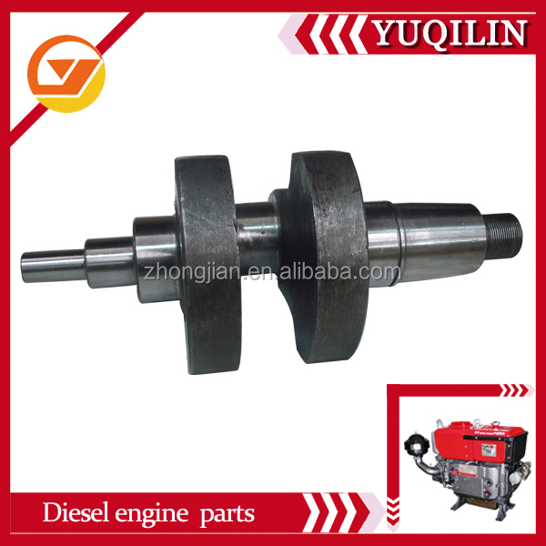 Yuqilin FJ brand diesel engine spare parts JD330 CRANSHAFT manufacturer