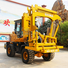 Bore piles drilling machine hydraulic pile driver Photovoltaic Guardrail Post Pile hammer