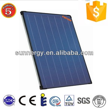 water heating system application and vacuum solar collector type thermal panel