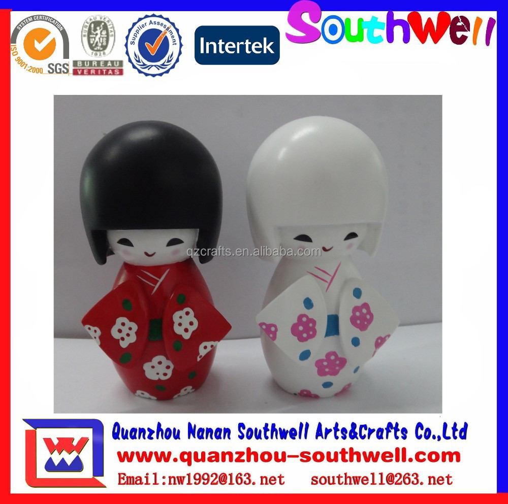 custom resin baby girl figurines for souvenir gifts