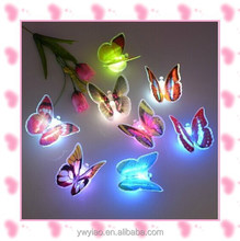 2015 New design led butterfly for party