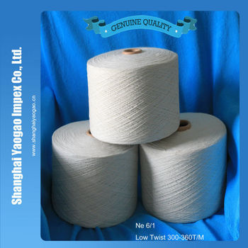 100% recycle cotton yarn open end yarn