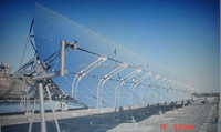 100x70x4000mm two side open high temperature solar receiver tube, concentrator tube CSP, solar thermal heating system