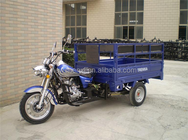3 Wheel Cargo Tricycle for Passenger Cargo 200CC Air Cooled