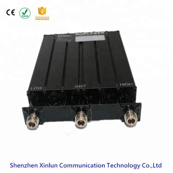 JIESAI Duplexer Low Power 30W 340~390MHz UHF Band stop or Band reject Duplexer/Filter for two way radios Repeater