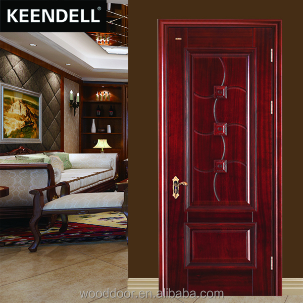 Modern design interior luxury solid wood door