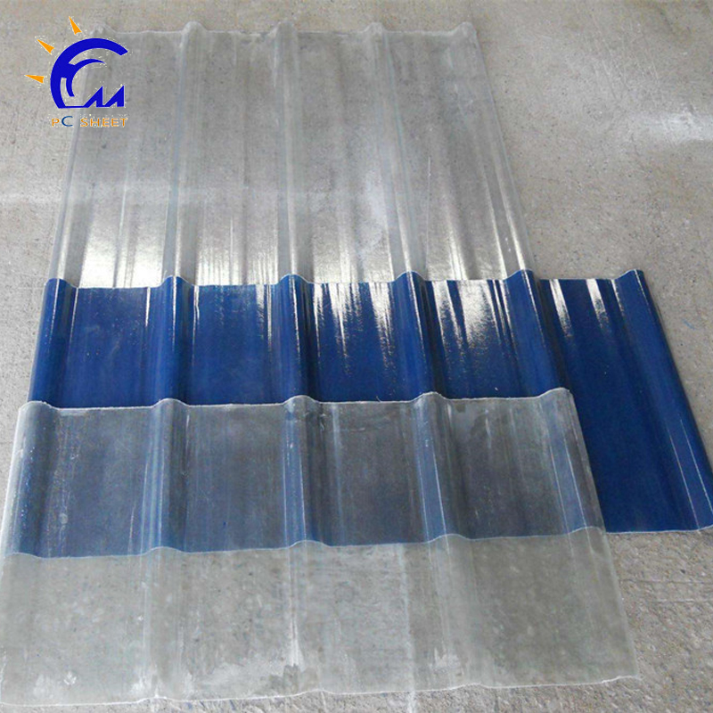 fiber glass corrugate sheet FRP