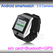 2013 new phone watch GSM full bands wrist watch phone android wifi cell