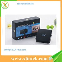AML8726-MX dual core A9 android 4.2.2 kodi 14.2 Wifi DLNA tv box HD18D internet japan tv box