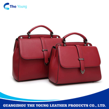 Most popular high quality oem real leather messenger bag