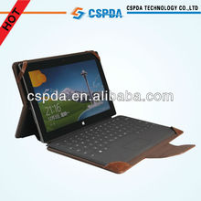 For Microsoft Surface 10.6 inch Pro tablet high quality pu leather keyboard case