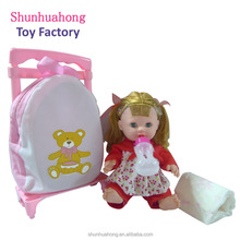 New style 14.5 inch baby doll reborn silicone with 4 sounds