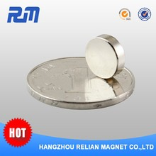 Free sample China professional strongest strong ultra thin disc neodymium magnet