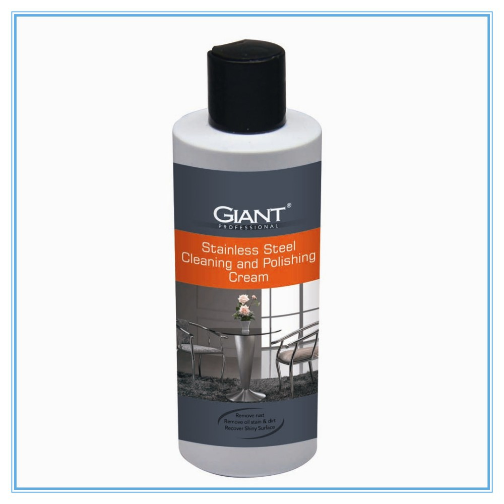 stainless steel cleaning chemicals and polishing cream