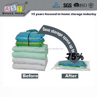 Plastic vacuum seal storage bag for mattress