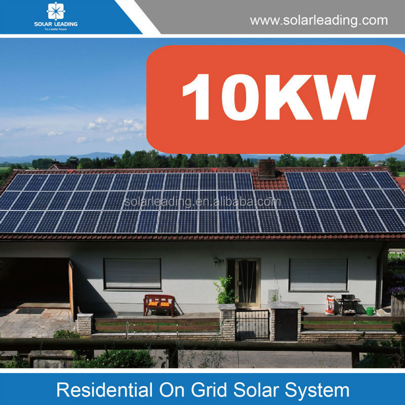 Grid Tied Solar System Solar Kit For Home 10kw Buy Solar