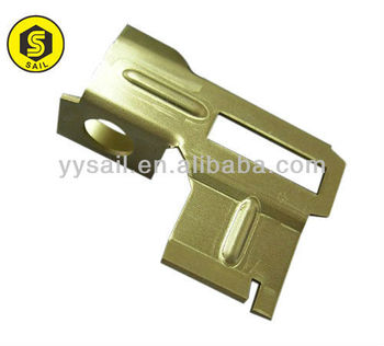 CNC metal stamping bending parts sand painted