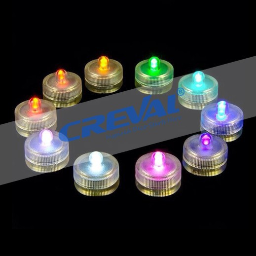 Multicolor waterproof tea light candle cover for wedding decoration