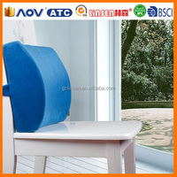 2014 New Products made in China memory foam chair back rest cushion