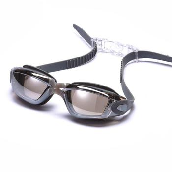 PC Lenses Mirror Coating Anti-fog  Swimming Goggles Swimming Glasses