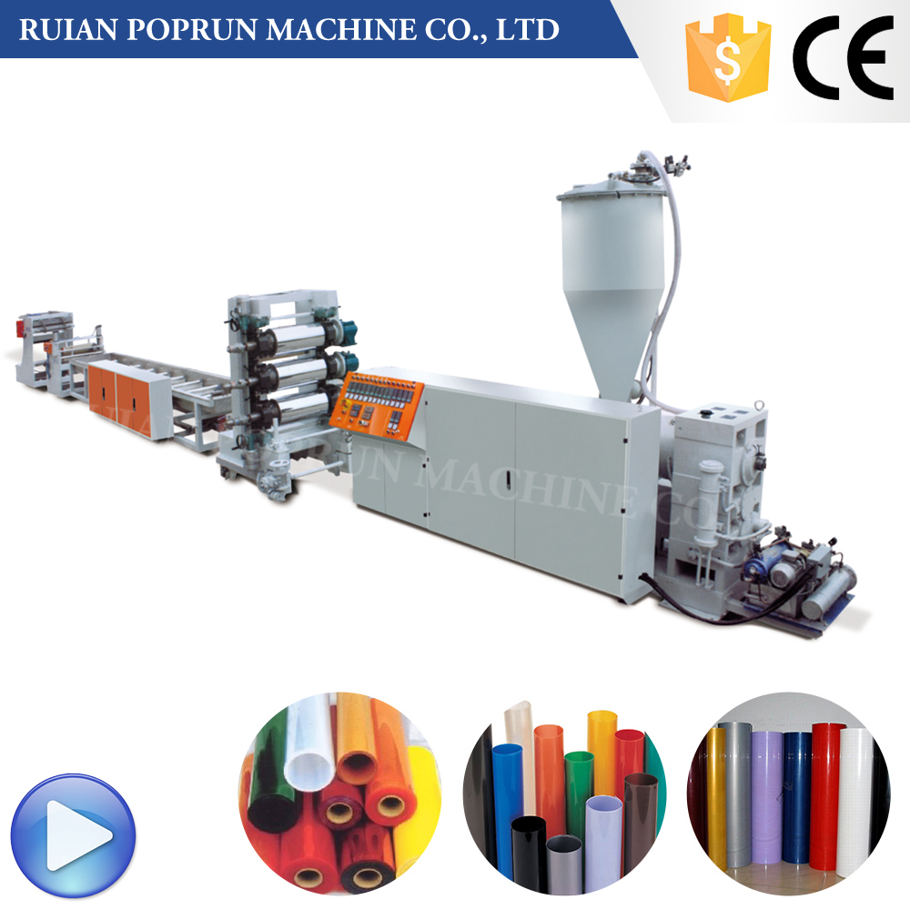 TF660-B Double-layer Plastic pp edge pet film banding extrusion line Sheet Extruder