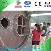 Long usage life used tire recycling plant,used tire pyrolysis machine,used tire to oil machine