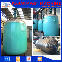 Double jacketed Reaction vessel Reactor kettle Chemical stirred Tank Reactor