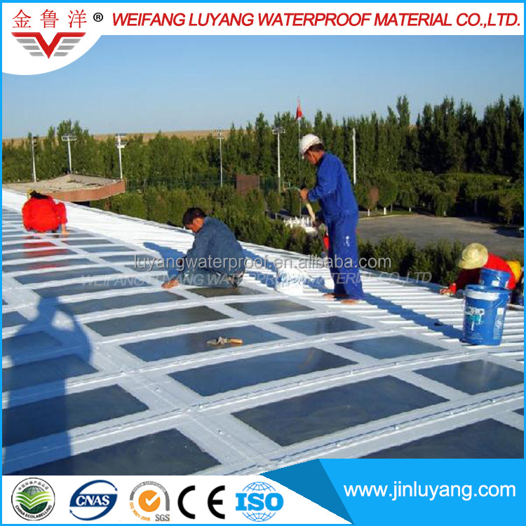 factory supply polyurethane waterproofing coating for steel