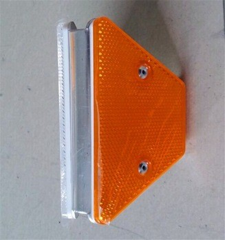 High production ability yellow color visibility reflective road Guardrail reflector