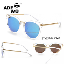 ADE WU custom logo New simple diamond polarized sunglasses 2017 for fashion women