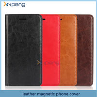 wholesale new products 2016 book style wallet cell phone case Leather Magnet flip cover for oppo f1s