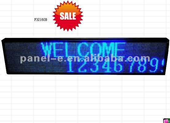 HOT!!!!semi outdoor message led advertising billboard ,led Electronic Signs