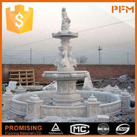 Fashionable Design Marble granite dolphin water fountain