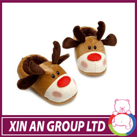 High quality christmas baby slippers
