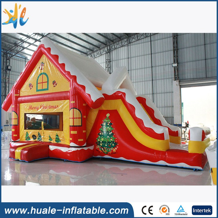 Christmas sports entertainment inflatable slide for sale / Customized inflatable slide for kid