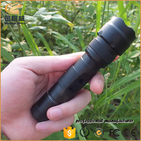 Hot Sale Five Modes Strong Light 502b Outdoor Xm-l T6 Led Flashlight