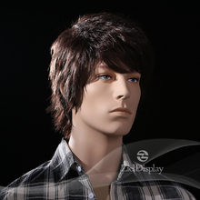 ZielDisplay Men Good Quality Synthetic Hair Wigs