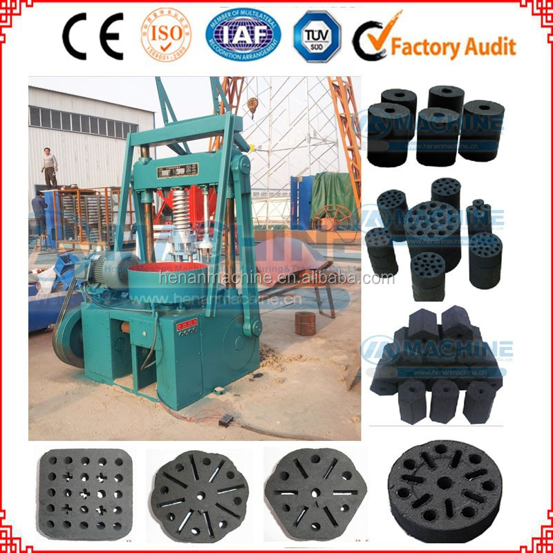 Brown honeycomb coal briquette making machine with economic price