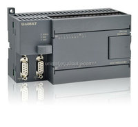 PLC Manufacturer Compatible Replacement with Siemens System CPU224 AC/DC/Relay 220V AC 14DI 10DO 2RS485 Support PPI/ Free port