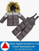 High Quality Padded Winter Children Snowsuits For Custom-made