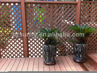Outdoor composite wood Embossed wpc wall panel for decking plank
