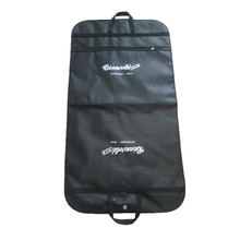 Eco-friendly Zipper pocket pp NON WOVEN travel garment Bag