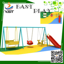 2016 Wenzhou Outdoor Plastic design swing playground toys for sale