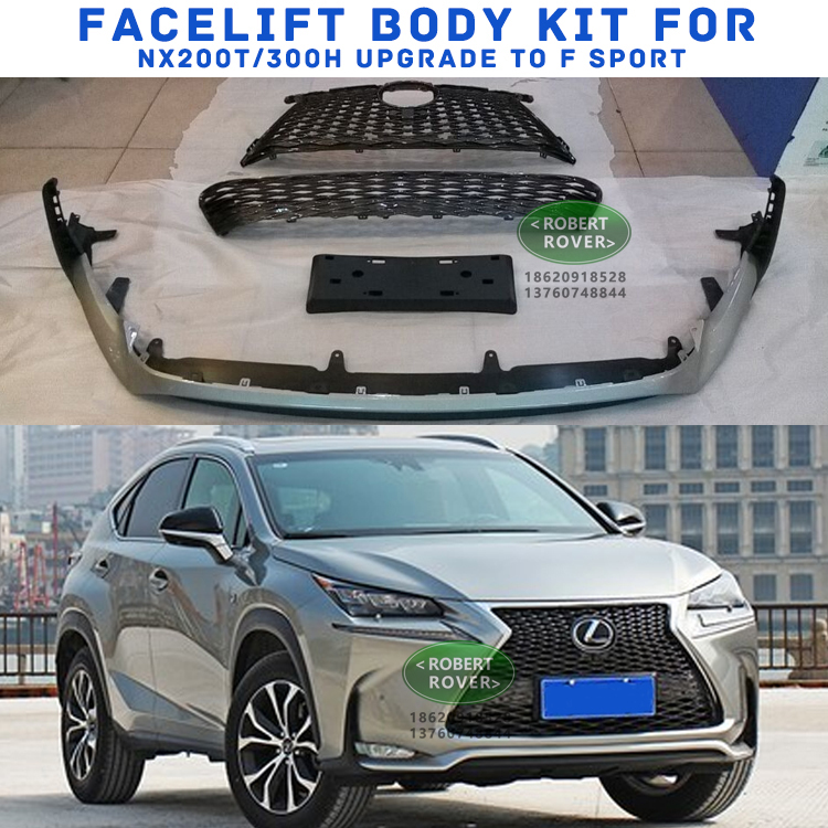 Lexus Nx200t/300h upgrade to F sport , facelift body kit for lexus Nx200t/300h