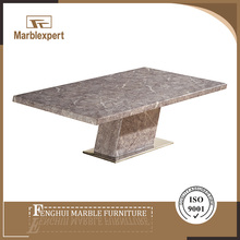 Contemporary natural stone hotel coffee table