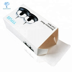 White wholesale custom print luxury gift packaging folding paper box