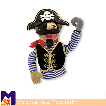 Special pirate plush hand puppet