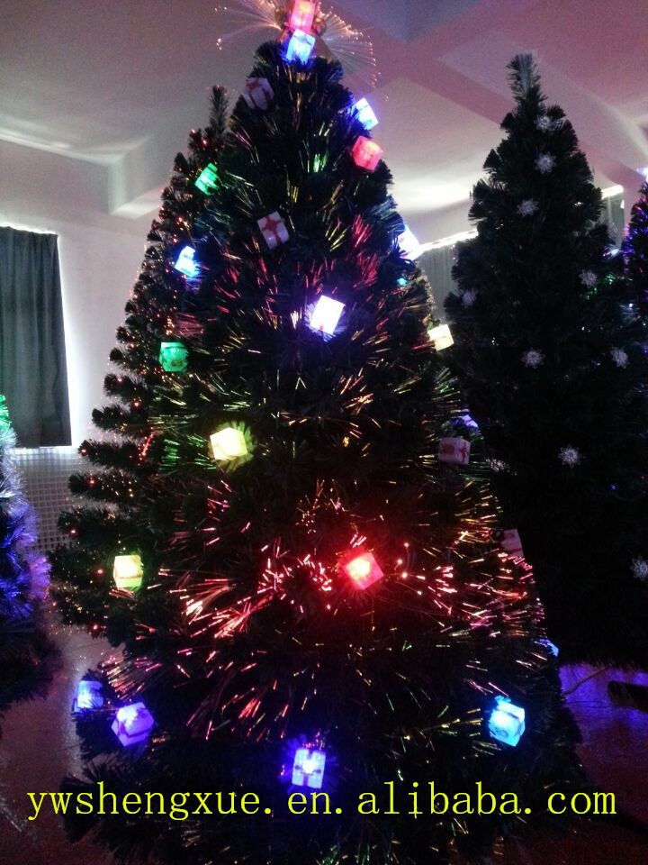 High Quality Fiber Optic Led Christmas Artificial Tree